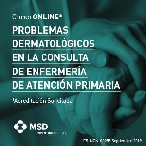 curso gratuito «Problemas Dermatológicos en la Consulta de Enfermería de Atención Primaria